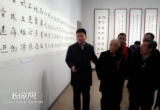 薛鸿群书法展12月1日在河北省博物院开展