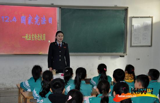 新华地税开展 宪法日税法课堂进校园 活动