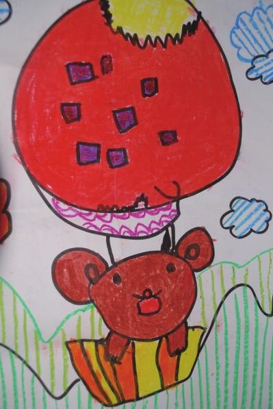 小熊串珠步骤图解教程4