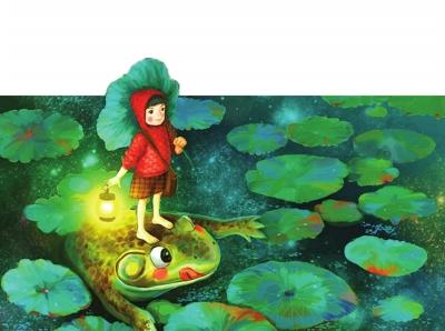 青蛙多多历险记 小学 池塘