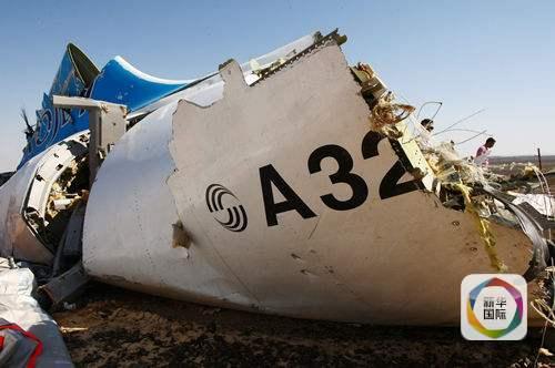 架空中客车a321型客机在埃及西奈半岛上空飞行时坠毁