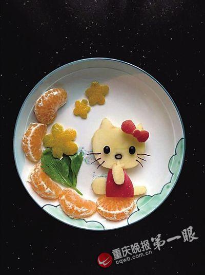 超萌动物清新植物都到碗里来|幼儿园|宝宝_凤凰资讯