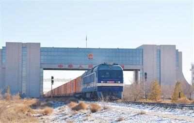 内蒙古过境中欧班列线路升至17条