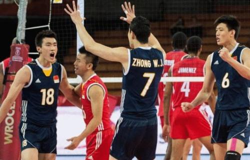 奥运排球球童-粤媒 奥运资格赛中国男排难夺前三 只能争亚洲第一图片