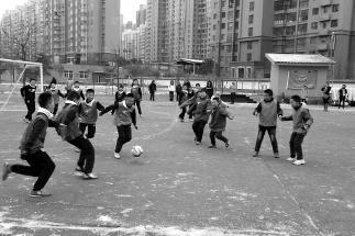 快乐踢球 带来动感作文课|足球|进球