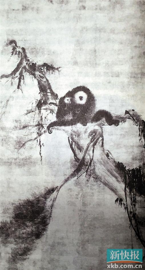 中国画画轴