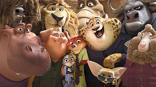 《疯狂动物城》票房继续疯狂
