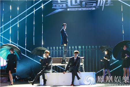 【星娱TV】VIXX展现哈林经典歌曲《命中注定》 王力宏极力称赞