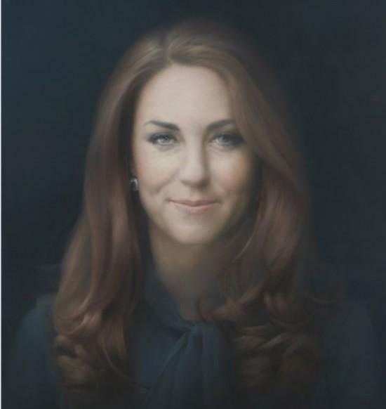 """凯特的肖像招来一片非议,外界批评称""""凯特被至少画老了20岁"""""""