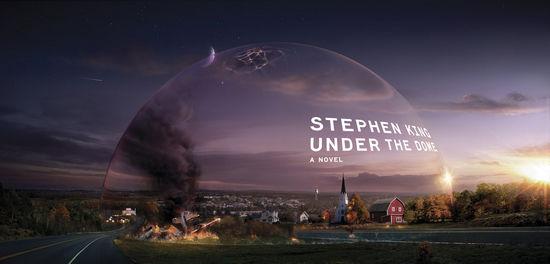 """斯蒂芬·金的小说《穹顶之下》讲述了一个被""""罩""""起来的小镇。"""