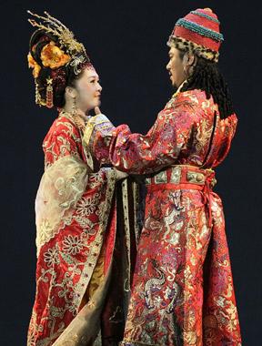 音乐剧《文成公主》五月上演 舞台也刮穿越风