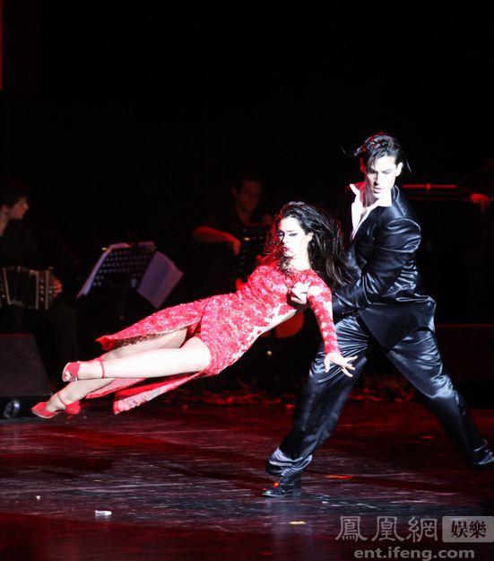《欲望的探戈》京城上演 阿根廷名团激情起舞