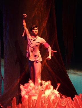 中国国家芭蕾舞团芭蕾舞剧《红色娘子军》剧照