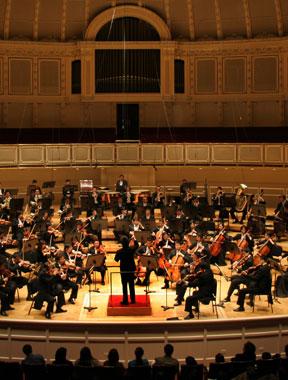 中国国家交响乐团在印第安纳