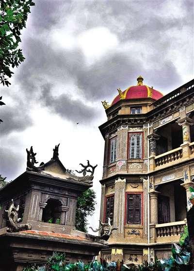 鼓浪屿( 门票)上随处可见欧式建筑.
