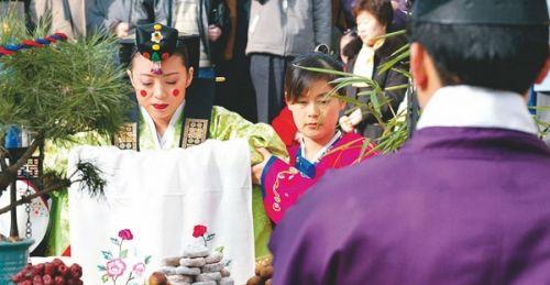 韩国 婚礼/礼服