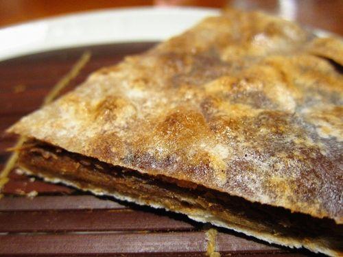 老北京人的下午茶 现煎麻酱糖饼主食