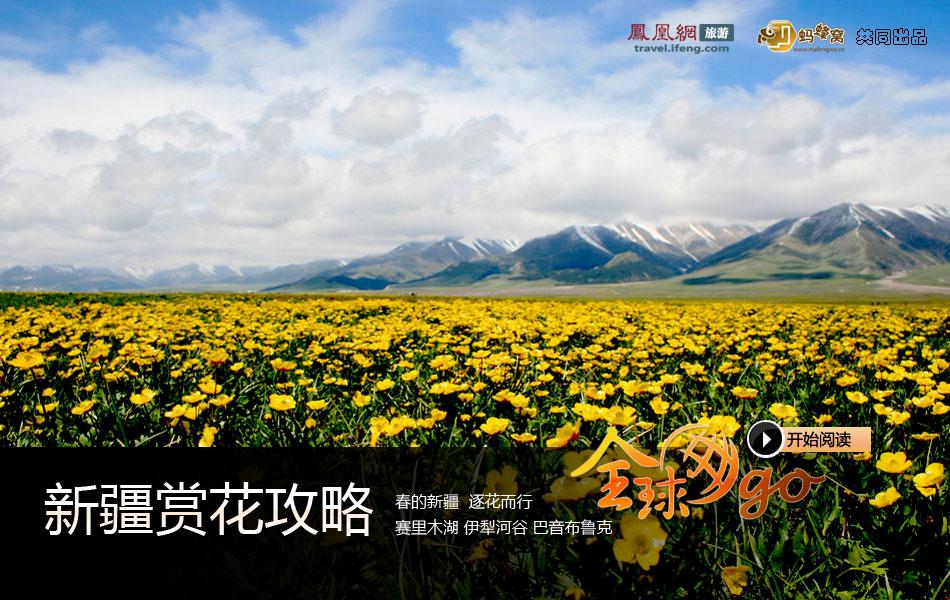新疆赏花攻略:春的新疆 逐花而行
