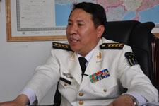 海军总医院政治委员杨明建
