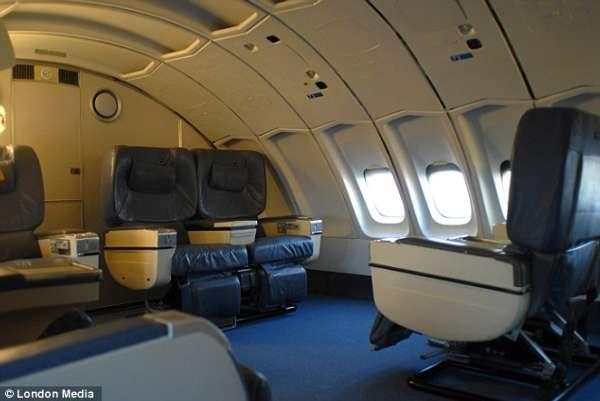 瑞典打造世界第一架飞机旅馆