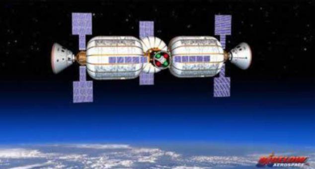 可膨胀太空飞船或成未来太空旅馆(图)