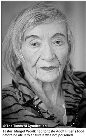 德老妇自曝二战为希特勒试毒 后遭苏军连续强暴14天