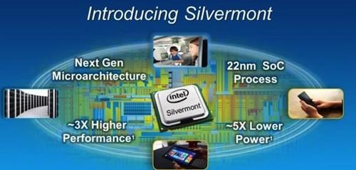 提性能降功耗英特尔发Silvermont微架构