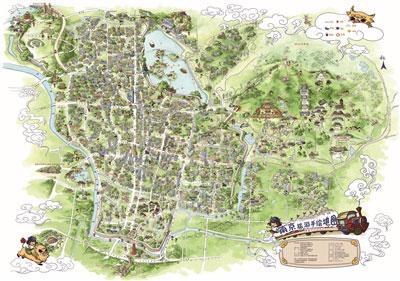 导读:拿着手绘地图,探访一处美景,探访一座城市,正逐渐成为时尚.
