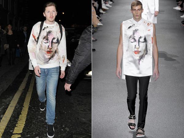 Givenchy才是造型神器 圣母头像T恤男女通杀