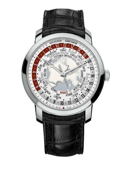 江诗丹顿世界时间腕表 致敬卓越制表技术