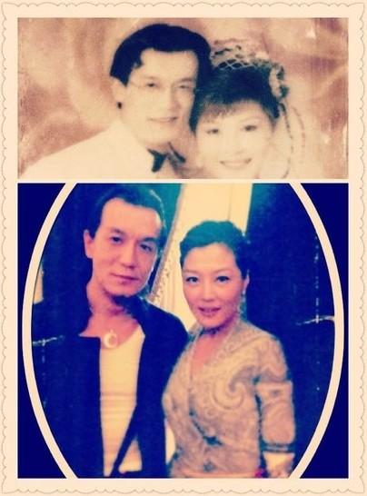 哈文晒与李咏复古婚纱照 夫妻20年缘分是种修行 图