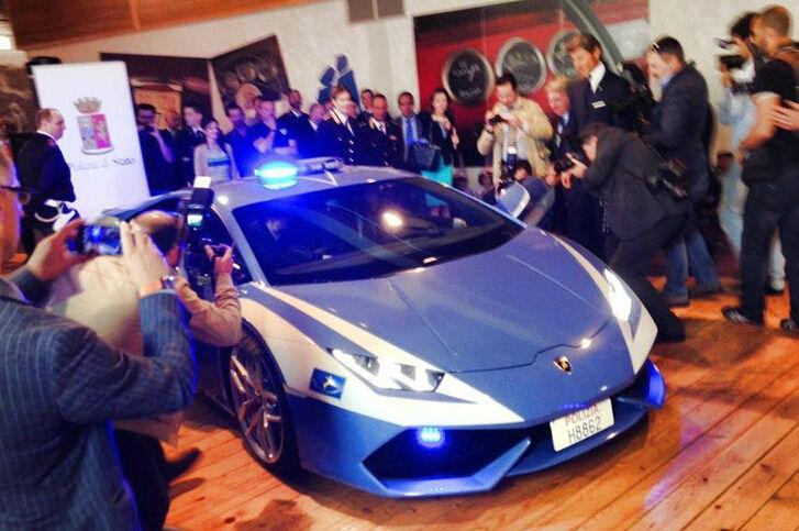 意大利警方的顶级豪车_财经频道_凤凰网