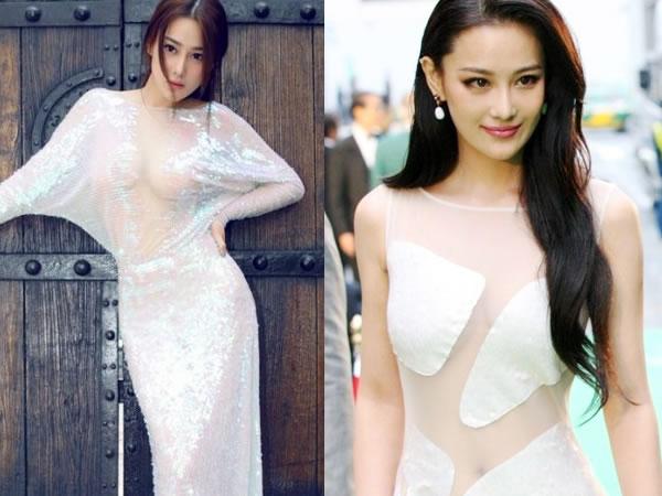 林晨钰爆奶门35张全图-盘点女星透视装瞬间 潘霜霜被赞 中国式性感