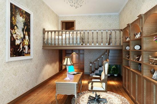 家居装修 设计案例 > 正文   落地玻璃窗尽情把阳光洒入书房,让人在