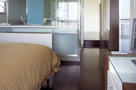 卧室客厅隔断装修设计 勾勒出生活轴线高清图片
