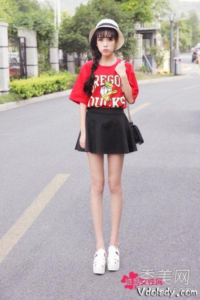 165cm女生如何穿 腿更长个更高更让人羡慕