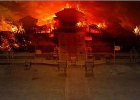 烧秦咸阳宫