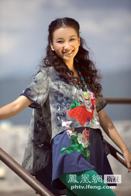 2012中华小姐环球大赛18强佳丽 王博