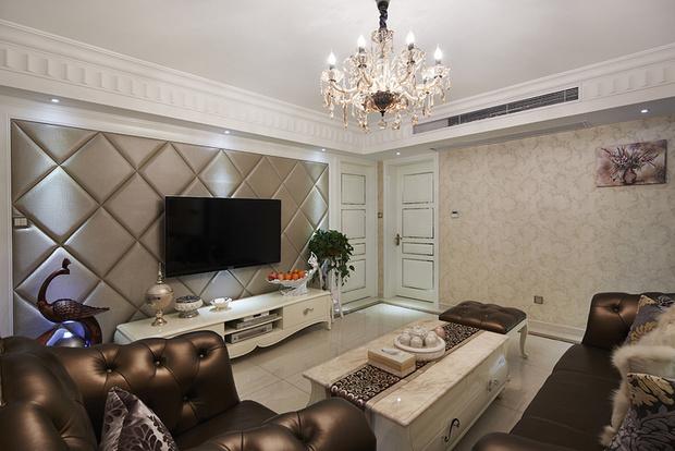 两室一厅小户型装修 象牙白色简欧风