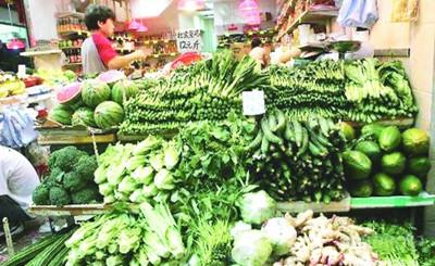 厦门部分菜价同期大幅上涨 供求失衡让农业难做
