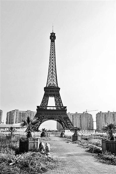 中国山寨全世界著名建筑 在中国一下午逛遍巴黎威尼斯