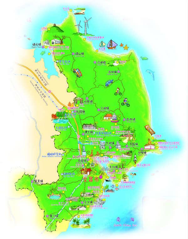 文昌市旅游委推出航天,文化为主打的三条旅游线路