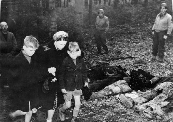 二战纳粹残暴罪行高清组图