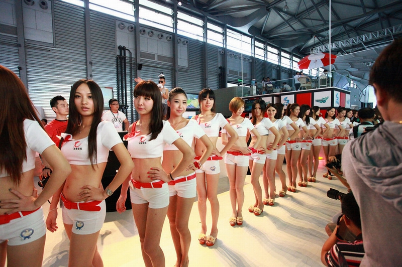 chinajoy看美女:showgirl性感小热裤撩人心