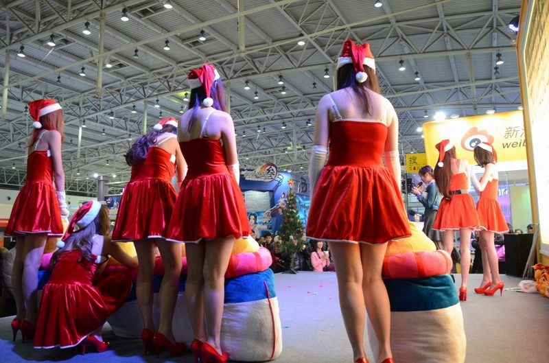 网博会上的美女ShowGirl【图】 - 深瞳渊源 - 深瞳渊源,品味经典!!!