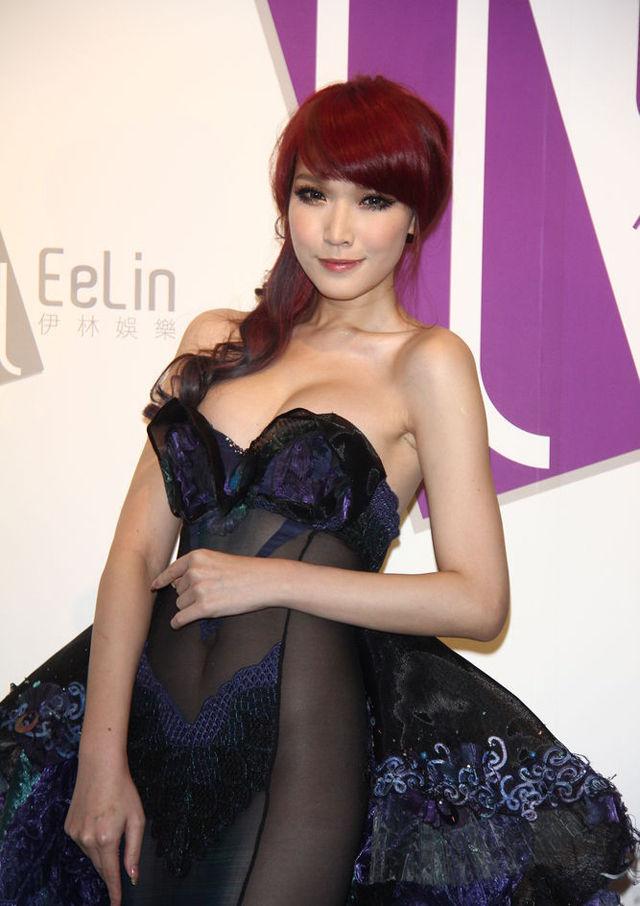 台湾知名模特儿经纪公司年会 竖