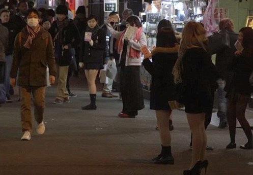 揭秘日本援交文化 少女陪聊暗藏性交易