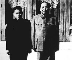 毛泽东与李银桥合影