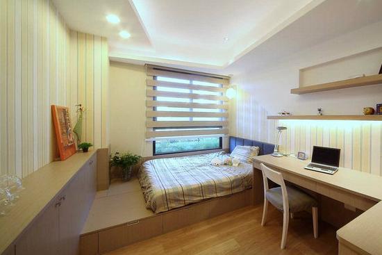 卧室颜色设计装修效果图