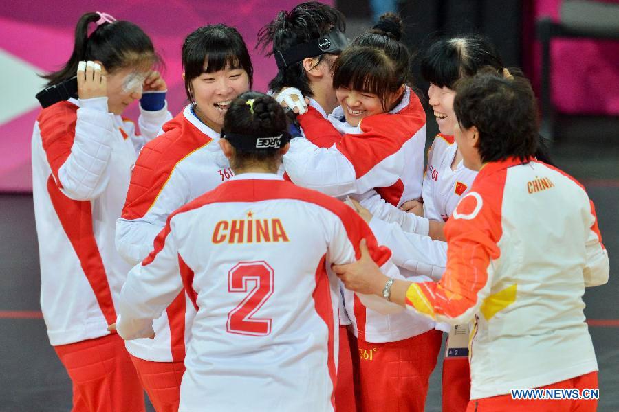 中国女队门球世界晋级四强迷你盲人怎么弄自动蹦蹦床图片